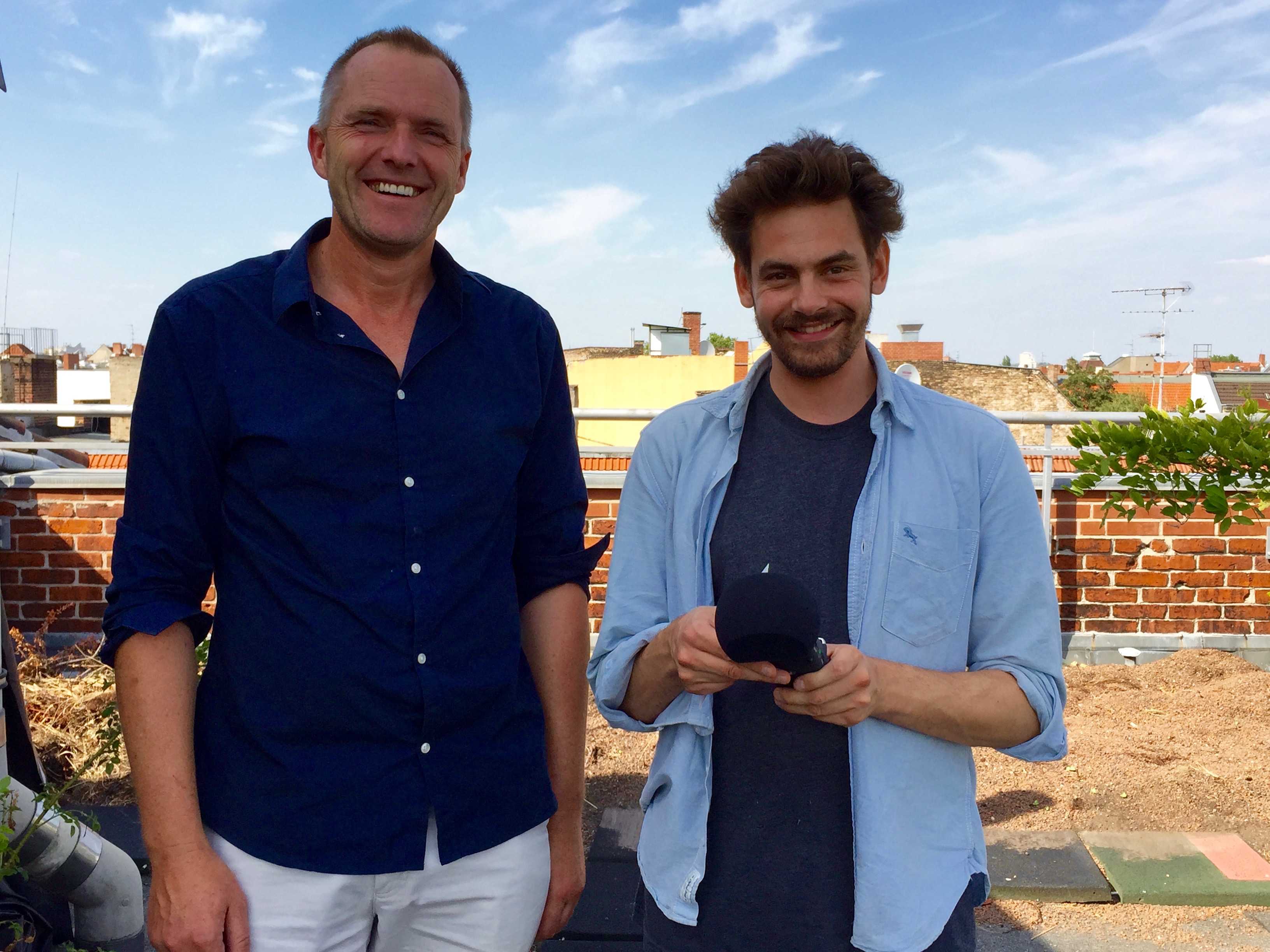 Sharehaus Refugio – Shai Hoffmann trifft Gründer Sven Lager