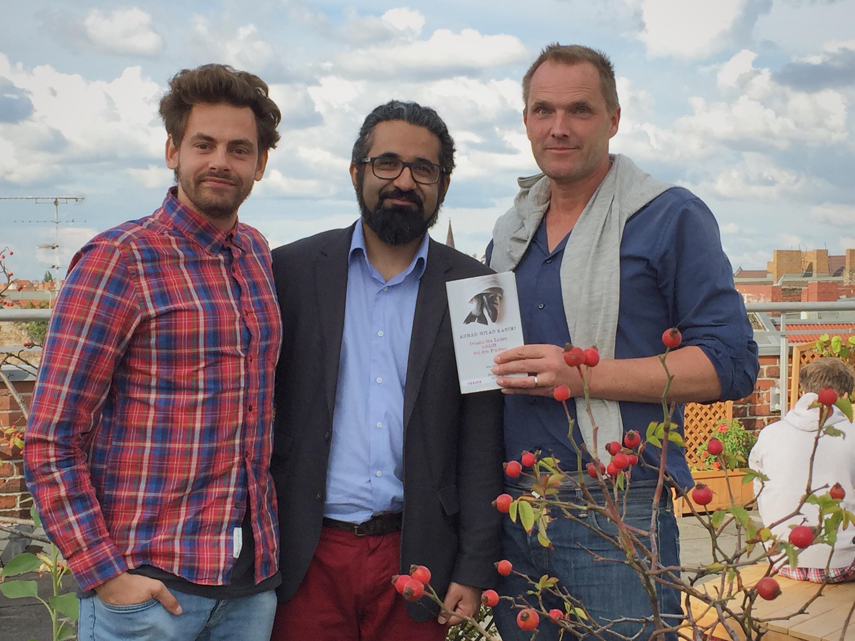 Shai Hoffmann interviewt Islamwissenschaftler Dr. Milad Karim – vom Flüchtling zum Professor 2/2