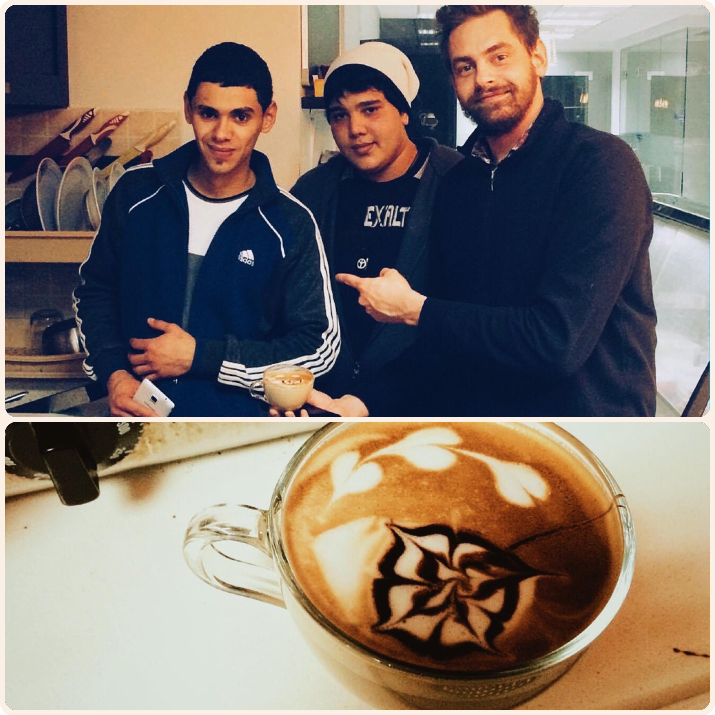 Perspektiven mit Latte Art Cappuccino & Startups – ein Besuch in Ramallah